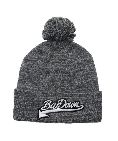 BARDOWN LEATHER PATCH TOQUE