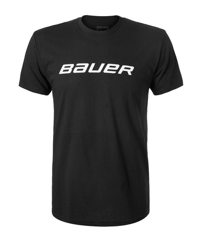 BAUER KIDS CORE GRAPHIC CREW SHORT SLEEVE SHIRT - BLACK