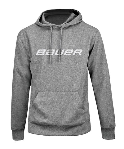 BAUER MEN'S PERFORMANCE CORE GRAPHIC HOODIE - GREY