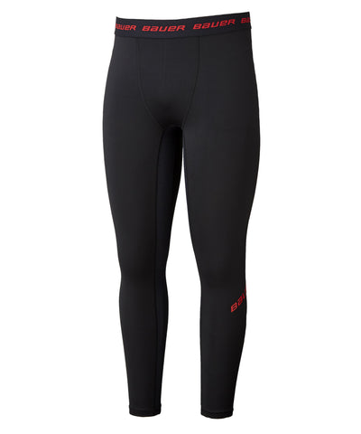 BAUER BOY'S ESSENTIAL COMPRESSION BASE LAYER PANTS