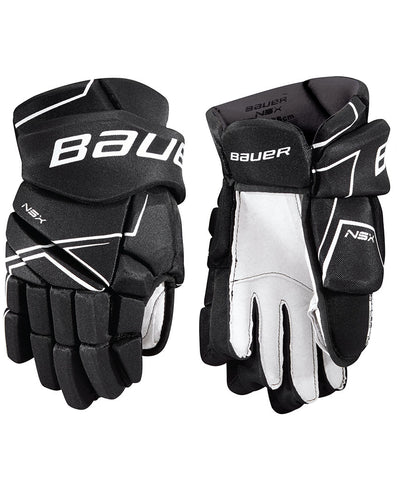 BAUER NSX JR HOCKEY GLOVES