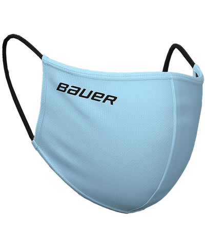 BAUER REVERSIBLE NON-MEDICAL FABRIC FACE MASK - BLUE/PLAID