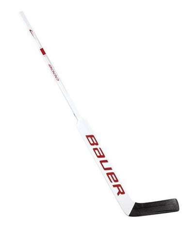 BAUER REACTOR 9000 INT GOALIE STICK - WHT/RD