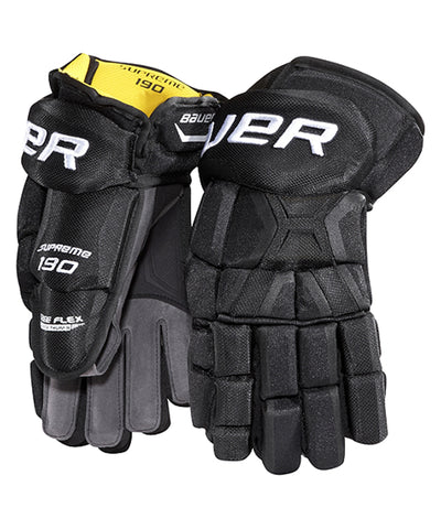BAUER SUPREME 190 SR HOCKEY GLOVES