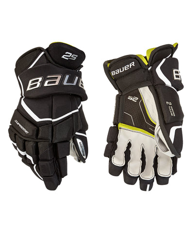 BAUER SUPREME 2S JR HOCKEY GLOVES