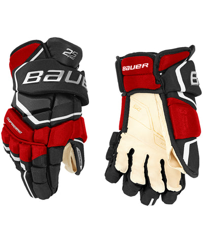 BAUER SUPREME 2S PRO SR HOCKEY GLOVES