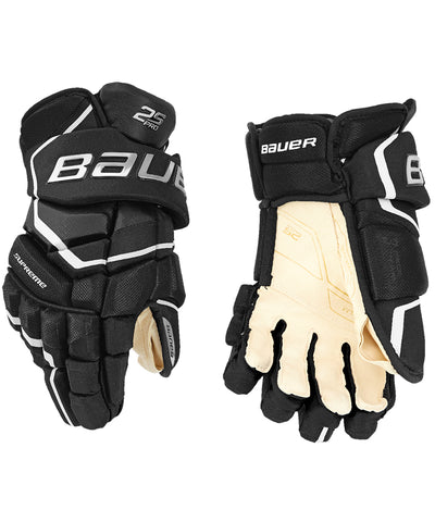 BAUER SUPREME 2S PRO JR HOCKEY GLOVES