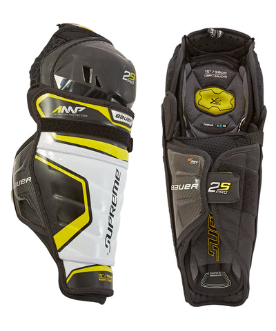 BAUER SUPREME 2S PRO JR SHIN GUARDS