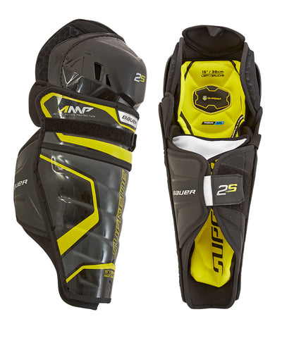 BAUER SUPREME 2S JR SHIN GUARDS