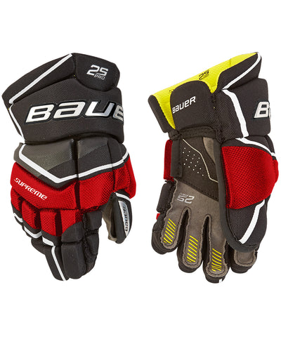 BAUER SUPREME 2S PRO YTH HOCKEY GLOVES