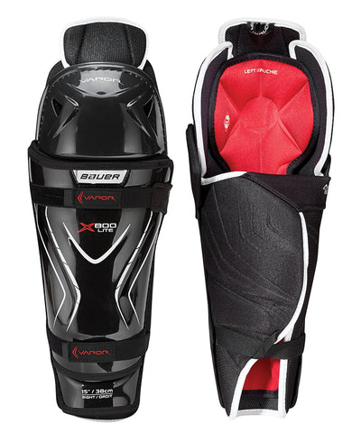 BAUER VAPOR X800 LITE SR SHIN GUARDS