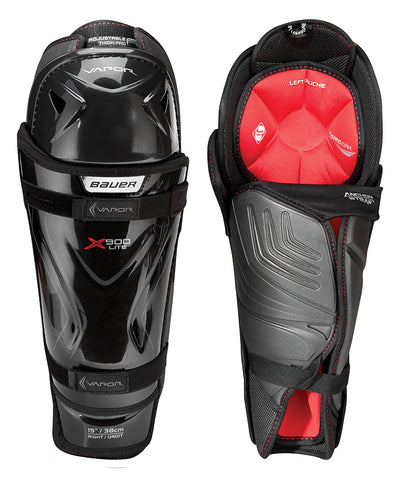 BAUER VAPOR X900 LITE JR SHIN GUARDS