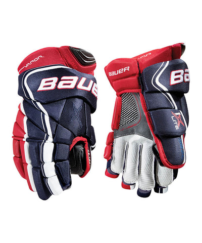 BAUER VAPOR 1X LITE JR HOCKEY GLOVES
