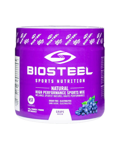 BIOSTEEL NATURAL HIGH PERFORMANCE SPORTS DRINK - GRAPE 140g