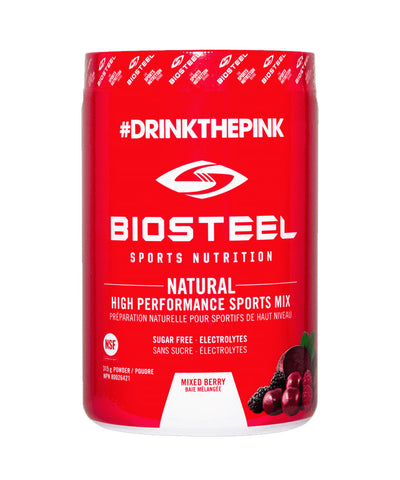 BIOSTEEL NATURAL HIGH PERFORMANCE SPORTS DRINK -  MIX BERRY 315g