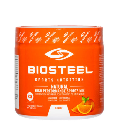BIOSTEEL NATURAL HIGH PERFORMANCE SPORTS DRINK - ORANGE 140g