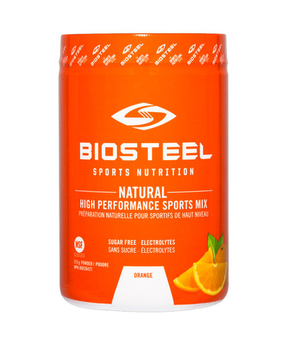 BIOSTEEL NATURAL HIGH PERFORMANCE SPORTS DRINK - ORANGE 315g