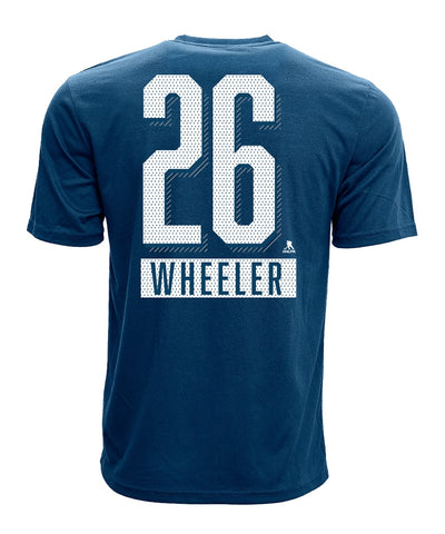 BLAKE WHEELER WINNIPEG JETS LEVELWEAR MEN'S ICING NAME & NUMBER T SHIRT