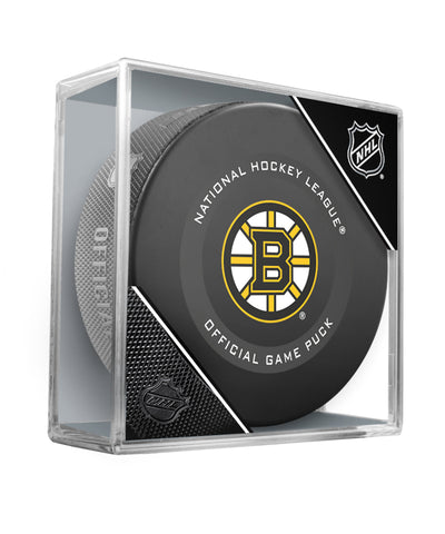 BOSTON BRUINS 2019 OFFICIAL GAME PUCK