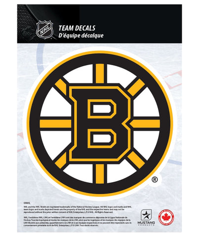 "BOSTON BRUINS 5"" X 7"" NHL TEAM DECAL"