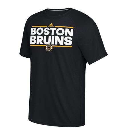 BOSTON BRUINS ADIDAS MEN'S DASSLER T SHIRT