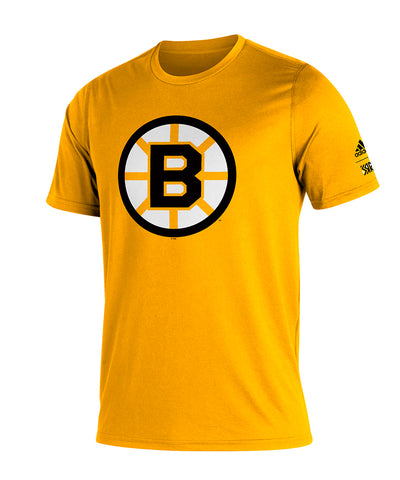 BOSTON BRUINS ADIDAS MEN'S REVERSE RETRO AMPLIFIER T SHIRT