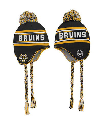 BOSTON BRUINS KID'S WORDMARK TASSEL KNIT TOQUE
