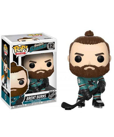 BRENT BURNS SAN JOSE SHARKS FUNKO POP! VINYL NHL FIGURE