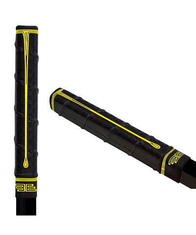 BUTTENDZ TWIRL88 GRIP - BLACK/YELLOW