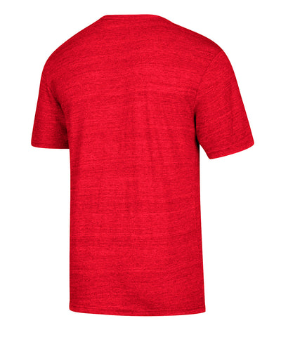 CALGARY FLAMES ADIDAS MEN'S PLAYOFFS C OF RED T SHIRT
