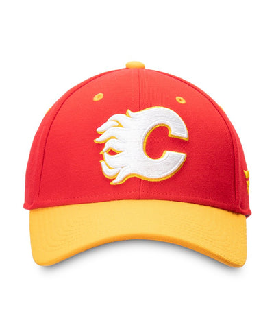 CALGARY FLAMES FANATICS MEN'S 2019 NHL HERITAGE CLASSIC FLEX HAT