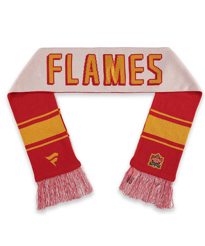 CALGARY FLAMES FANATICS MEN'S 2019 NHL HERITAGE CLASSIC SCARF