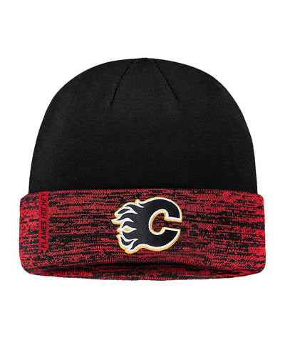 CALGARY FLAMES FANATICS MEN'S RINKSIDE CUFFED KNIT TOQUE
