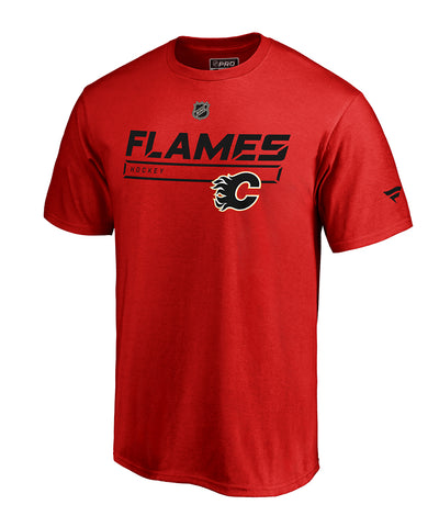 bbc674ee2 CALGARY FLAMES FANATICS MEN S RINKSIDE PRIME T SHIRT