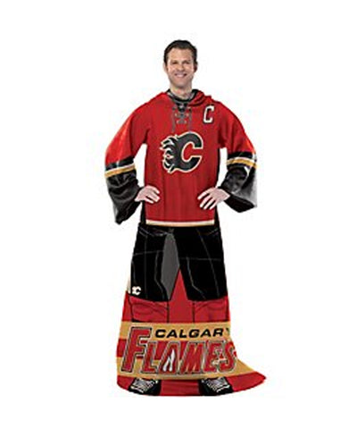 CALGARY FLAMES NHL JERSEY COMFY THROW