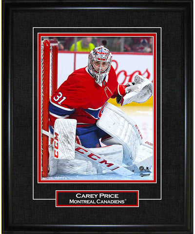 CAREY PRICE MONTREAL CANADIENS AUTHENTIC FRAMED PRINT - 8X10