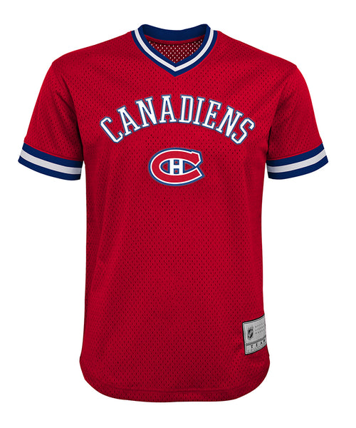 62b1319d076 CAREY PRICE MONTREAL CANADIENS KID S V-NECK MESH SHIRT – Pro Hockey Life