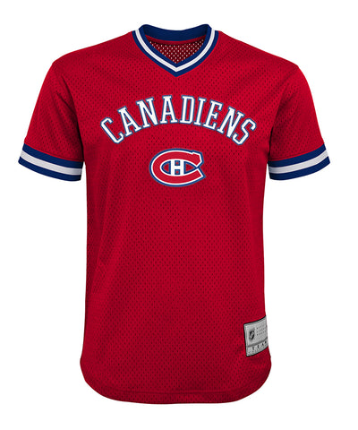 CAREY PRICE MONTREAL CANADIENS KID'S V-NECK MESH SHIRT