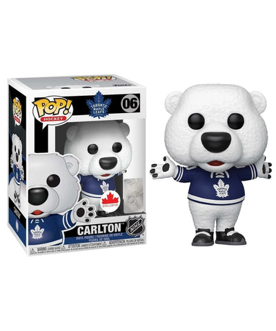 CARLTON THE BEAR TORONTO MAPLE LEAFS FUNKO POP! VINYL NHL FIGURE
