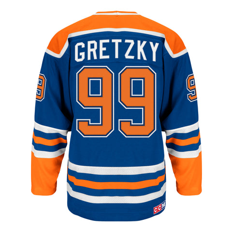 CCM AUTHENTIC HEROES OF HOCKEY WAYNE GRETZKY JERSEY