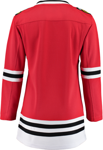FANATICS CHICAGO BLACKHAWKS WOMENS BREAKAWAY JERSEY