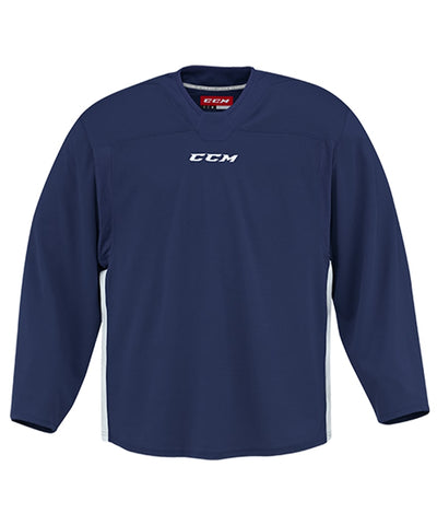 CCM 6000 MID SR PRACTICE JERSEY - NAVY WHITE ... 47cac1f6d9d