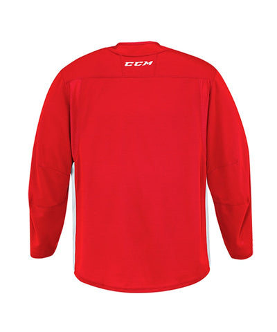 CCM 6000 MID SR PRACTICE JERSEY - RED/WHITE