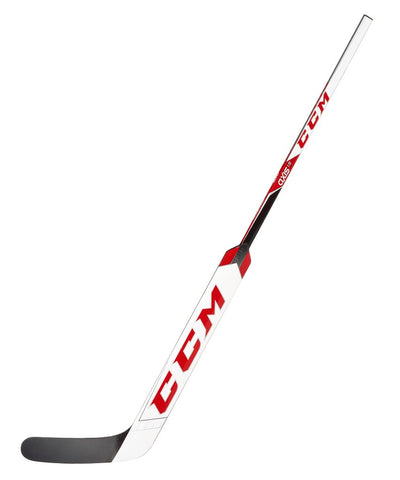CCM AXIS 1.9 INTERMEDIATE GOALIE STICK - WHITE/RED