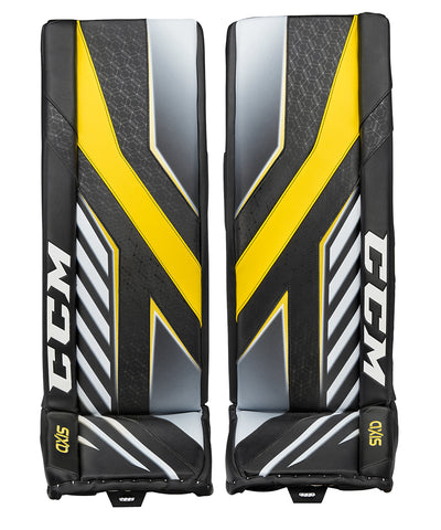 CCM AXIS SENIOR GOALIE PADS