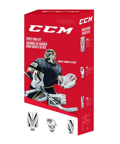 CCM EFLEX 4 STREET YOUTH GOALIE KIT