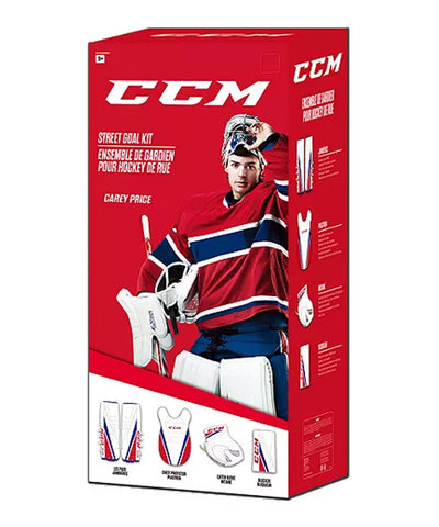 CCM EFLEX STREET JUNIOR GOAL KIT