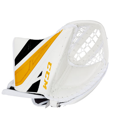 White/BlackCCM EXTREME FLEX E4.5 JR GOALIE CATCHER