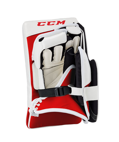 CCM EXTREME FLEX E4.9 SR GOALIE BLOCKER