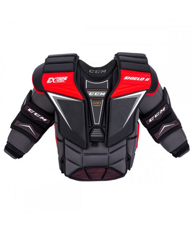 CCM EXTREME FLEX SHIELD 2 PRO SR GOALIE CHEST PROTECTOR